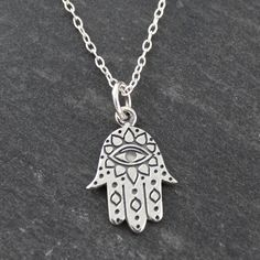 FashionJunkie4Life - Hamsa Necklace - 925 Sterling Silver, $18.99 (http://www.fashionjunkie4life.com/hamsa-necklace-925-sterling-silver/)