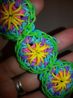 One Loom Kaleidoscope Bracelet Tutorial