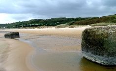 See Omaha Beach in Normandy...where my Grampy landed on D-Day.