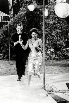 Cary Grant and Sophia Loren