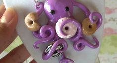 polymer clay charm...maybe @Dan Uyemura Uyemura Gear girl would like?