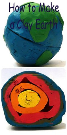 Making a 3D model is an easy hands-on way for kids to learn what the Earth is made of. We read about the Earth's layers, to begin with, inThe Magic Schoolbus - Inside the Earth. Then we grabbed so...