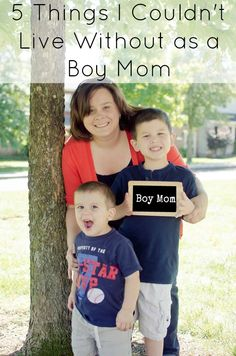 5 Things I Couldn't Live Without as a Boy Mom #momessentials
