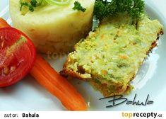 Kapustová sekaná s Hraškou recept - TopRecepty.cz Baked Potato, Quiche, Mashed Potatoes, Menu, Baking, Breakfast, Ethnic Recipes, Food, Whipped Potatoes