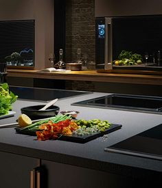 Poggenpohl — The Fourth Wall a kitchen without boundaries.