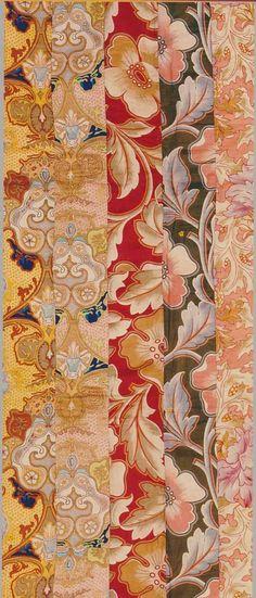 Strip Quilt detail, c Victoria & Albert Museum, London, UK. Old Quilts, Antique Quilts, Scrappy Quilts, Vintage Textiles, Vintage Quilts, Quilting, Chintz Fabric, Century Textiles, Indigo Prints