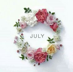 Welcome July Images Welcome July Images Cute Welcome July Images Floral Wishes Welcome July Images Love Welcome July Images Summer Related Welcome July, July Images, Month Flowers, July Month Flower, Hello July, Month Of July, July 1, Pink Quotes, Gold Quotes