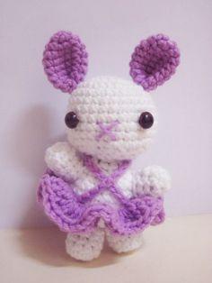 Ballerina Bunny free crochet pattern by Sweet N' Cute Creations