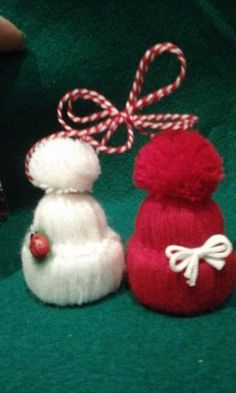 Pin by Еника Иванова on Baba Marta Christmas Tree Toppers, Christmas Crafts, Christmas Decorations, Christmas Ornaments, Holiday Decor, Cd Crafts, Diy And Crafts, Arts And Crafts, Yarn Dolls
