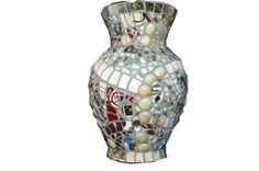 Custom Mosaic Vase with Photos by Sybil Sage | Hatch.co
