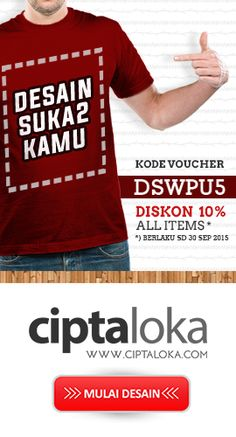 Jual Kaos Distro Online - SatuBaju.com