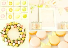 Citrus Inspired party