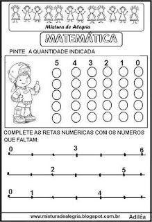 Matemática para 1º ano