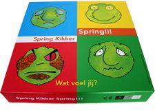 Spring Kikker Spring - Emoties herkennen en benoemen