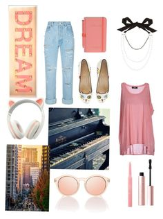 """Pearl days"" by reny-a on Polyvore featuring Forte Couture, Diesel, Le Specs, Christian Dior, Charlotte Olympia, Wild & Wolf, Too Faced Cosmetics and Lanvin"