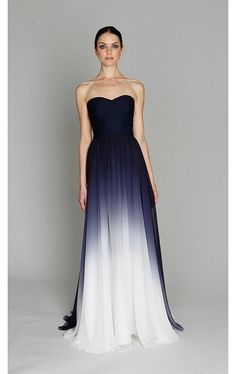 Ombre done right <3   omg i would have loved this as a prom dress when i was younger