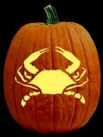 crab + halloween = pumpkin crab dip mmm