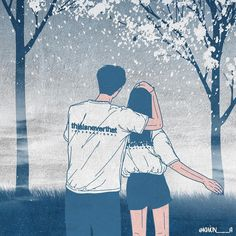 The perfect guide to loving someone on their bad days Cute Couple Drawings, Cute Couple Art, Anime Love Couple, Couple Cartoon, Love Drawings, Couple Illustration, Illustration Art, Couple Ulzzang, Cute Couple Wallpaper