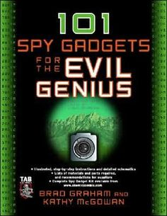 Overview  101 Spy Gadgets for the Evil Genius / Edition 1  101 SPY DEVICES FOR SERIOUS SNOOPING    This book offers an amazingly awesome and complete collection of professional spy tools that you can build yourself. You can build any project in this thrilling arsenal of spy devices for $30 or less! Not only that, even total beginners to electronics can construct these mind-boggling snooping tools.    You get complete, easy-to-follow plans, clear diagrams and schematics, and hundreds of…