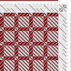 Hand Weaving Draft: Page 107, Figure 8, Textile Design and Color, William Watson, Longmans, Green & Co., 8S, 8T - Handweaving.net Hand Weaving and Draft Archive