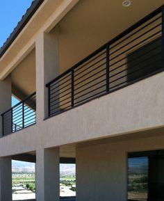 Exterior Horizontal Balustrade - modern - Exterior - Salt Lake City - Titan Stairs, Utah!