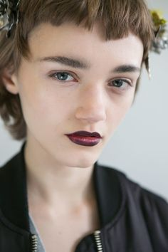 Rodarte at New York Fall 2016. http://adventuresfortwo.com/ #makeup #beauty #runway #backstage