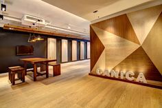 Timber Office Timber House, Workplace, Hong Kong, Divider, Commercial, Scene, Display, Interior, Projects