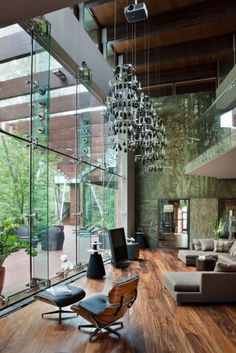 #MODERN #INTERIORS #ARCHITECTURE | Luxurious and MOdern House near Moscow | Russia | by Architect Olga Freiman