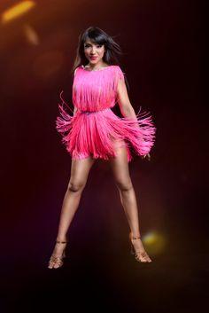 latin dance salsa ballroom dress by LaexDanceWear on Etsy