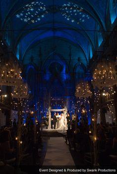 Planned, Designed & Produced by www.swankproductions.com - Winter Wonderland Wedding - Angel Orensanz NYC