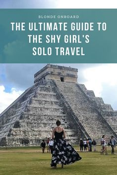 This the ultimate guide to solo travel for all the shy and introverted girls. It's not easy and many find it hard to understand some of the issues we go through but this guide is intended to help out each and every one of you!
