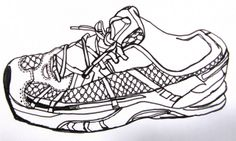 shoes  We all wish we could draw like this when we were 10, these guys can!