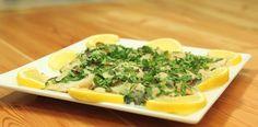 طريقة عمل وصفة فيليه السمك بصوص الليمون   زيتونة