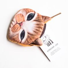 Exotic Cat Purse- Brown USD15.00 Free Shipping Worldwide www.azooshop.com