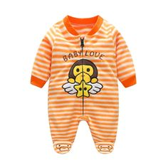 Baby Rompers Winter Warm Fleece Clothing Set for Boys Cartoon Monkey Infant Girls Clothes Newborn Overalls Baby Jumpsuit Newborn Boy Clothes, Newborn Outfits, Baby Boy Newborn, Pet Clothes, Baby Boy Outfits, Newborn Clothing, Boy Clothing, Baby Boys, Infant Girls