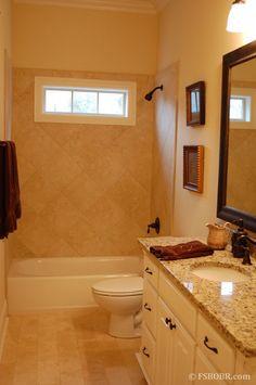 Windows in guest shower?