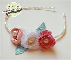 Tiara de Flores de pano | Silhouette Brasil - Blog