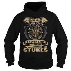I Love STUKES Last Name, Surname T-Shirt T shirts