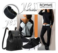 """ROMWE 4/10"" by melissa995 ❤ liked on Polyvore"