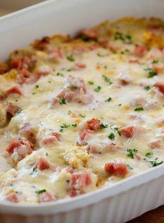 Recipes 17 |   CHICKEN CORDON BLEU CASSEROLE