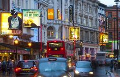 Soho comes alive at night with theatre shows, great restaurants and plenty of places to party!