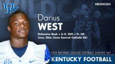 Kentucky Wildcat Football - Signing Day Player Card