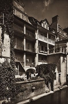 Karel Plicka shot fine monochrome photographs of Prague from the and documented a dark and mysterious Prague, a gothic and baroque Praha which. Prague Czech, Old World, Monochrome, Gothic, Louvre, Channel, Building, Photography, Travel