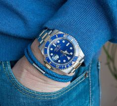 Viola Milano gives men an opportunity to express their own uniqueness and personality with individual twists to their outfits. Rolex Watches, Watches For Men, Rolex Submariner Blue, Mens Fashion Suits, Mens Suits, Italian Leather, Omega Watch, Gentleman, Luxury