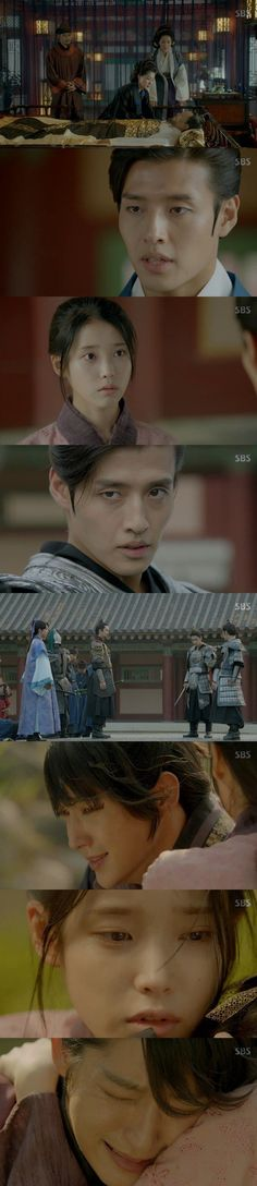 Lee Joon-ki cried in 'IU''s arms. On the thirteenth episode of the SBS drama 'Scarlet Heart: Ryeo', Wang Gun (Jo Min-ki) died.