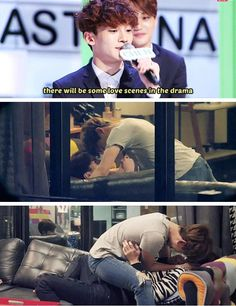 Can Not Fully Grasp The SituationO.O EXO Next Door <<< oh gods I can't stop my laughter XD XD XD