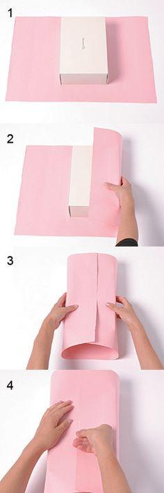Gift packing method