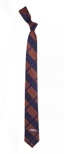 Denver Broncos Tie Skinny Woven Polyester Necktie