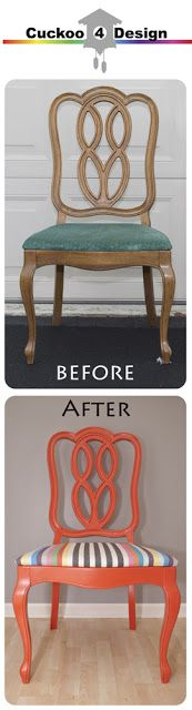 vintage 1965 Thomasville chair makeover