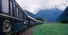 The legendary 'Orient Express'<3 I would love to travel on it...